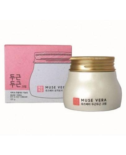 Крем для лица с цветочными экстрактами Muse Vera Pit Pat Cream 120 мл