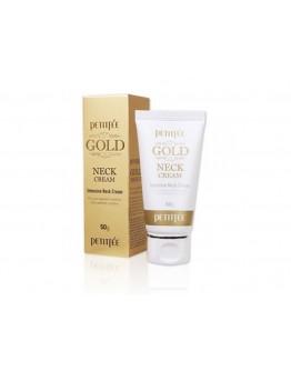 Крем для шеи антивозрастной Petitfee Gold Intensive Neck Cream
