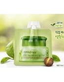 Крем для лица пробник Innisfree Green Tea Balancing Cream (pouch) 5 мл