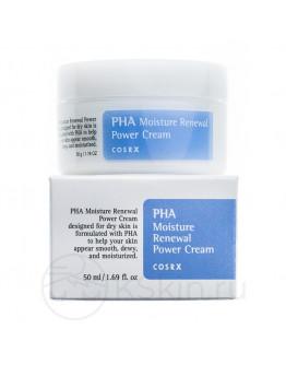 Крем для лица обновляющий COSRX PHA Moisture Renewal Power Cream