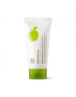 Пенка для умывания с маслом яблочных косточек Innisfree Apple Seed Deep Cleansing Foam