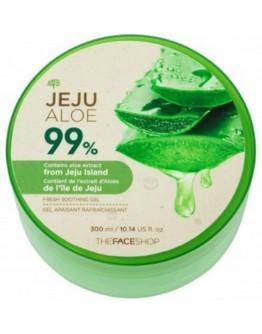 Гель для лица и тела увлажняющий с алоэ The Face Shop Jeju Aloe Fresh Soothing Gel