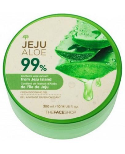 Гель для лица и тела увлажняющий с алоэ The Face Shop Jeju Aloe Fresh Soothing Gel 300 мл