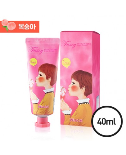 Крем для рук персиковый Fascy Moisture Bomb Hand Cream Peach 40 мл