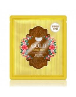 Маска для лица гидрогелевая с золотом и маточным молочком Koelf Gold & Royal Jelly Hydro Gel Mask
