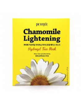 Маска для лица гидрогелевая c Ромашкой Petitfee Chamomile Lightening Hydrogel Face Mask