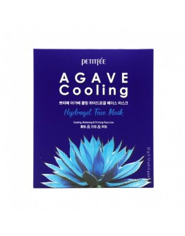 Маска для лица гидрогелевая c Агавой Petitfee Agave Cooling Hydrogel Face Mask