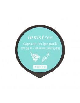 Маска для лица капсульная Innisfree Capsule Recipe Pack Bija & Tea Tree
