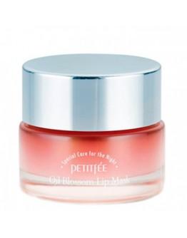 Маска для губ с маслом камелии Petitfee Oil Blossom Lip Mask Camellia Seed Oil 15 гр