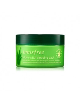 Ночная маска с алоэ Innisfree Aloe Revital Sleeping Pack