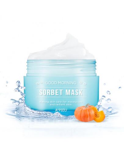 Маска для лица освежающая A'pieu Good Morning Sorbet Mask 105 мл