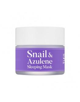 Ночная успокаивающая маска TIA'M Snail & Azulene Sleeping Mask 80 мл