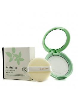 Бесцветная компактная пудра для жирной кожи Innisfree No-Sebum Mineral Pact