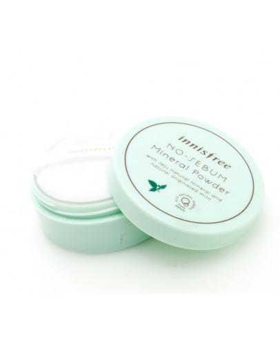 Бесцветная матирующая рассыпчатая пудра Innisfree No Sebum Mineral Powder 5 г