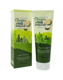 Скраб для тела с экстрактом зеленого чая Elizaveca Greentea Salt Body Scrub 300 г