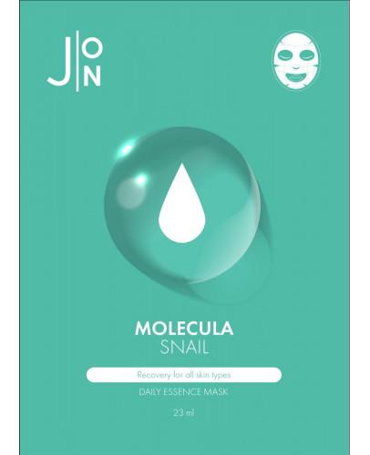 Тканевая маска для лица улиточная J:ON Molecula Snail Daily Essence Mask