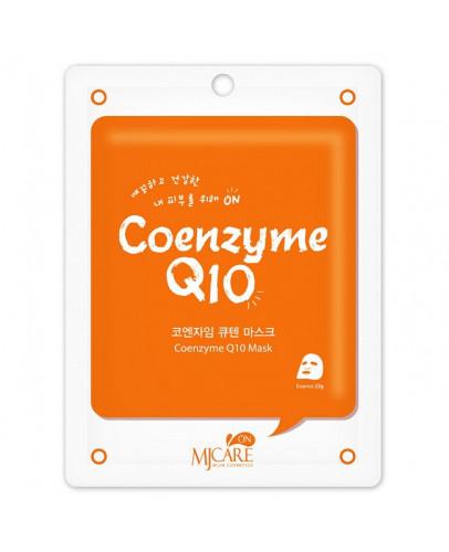 Маска тканевая с коэнзимом Q10 MJ on Coenzyme Q10 Mask Pack