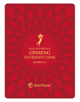 Маска для лица тканевая женьшень Skin Planet Ginseng Nourishing Mask
