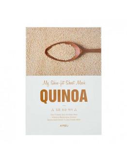 Маска для упругости кожи с экстрактом киноа A'pieu My Skin-Fit Sheet Mask Quinoa
