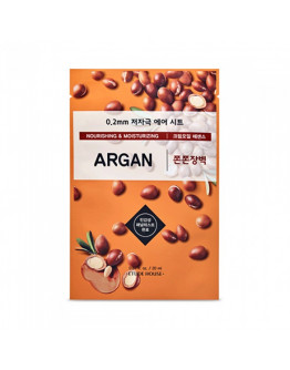 Маска питательная с аргановым маслом Etude House 0.2 Therapy Air Mask Argan