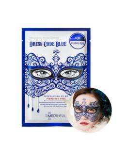 Маска тканевая для лица Mediheal Mask Dress Code Blue