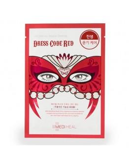 Маска тканевая для лица Mediheal Mask Dress Code Red