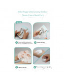 Маска тканевая с паровым кремом из ослиного молока Elizavecca Silky Creamy Donkey Steam Cream Mask Pack