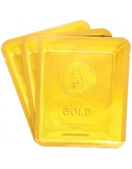 Маска для лица улиточная Elizavecca 24k Gold Water Dew Snail