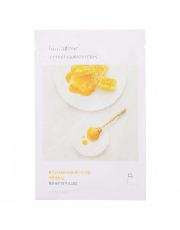 Тканевая маска с медом Innisfree My Real Squeeze Mask - Manuka Honey