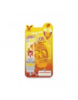 Маска для лица тканевая с медом Elizavecca Honey Deep Power Ringer Mask