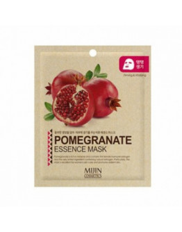 Маска для лица тканевая гранат MJ Pomegranate Essence Mask