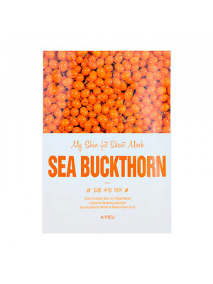 Маска для лица с облепихой A'pieu My Skin-Fit Sheet Mask Sea Buckthorn