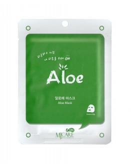 Маска тканевая с алоэ MJ on Aloe mask pack
