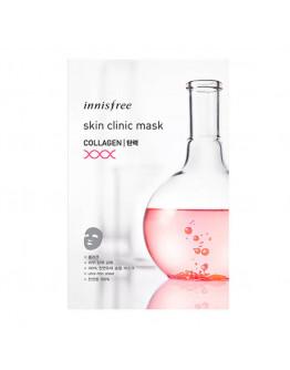 Укрепляющая маска с коллагеном Innisfree Skin Clinic Mask Collagen