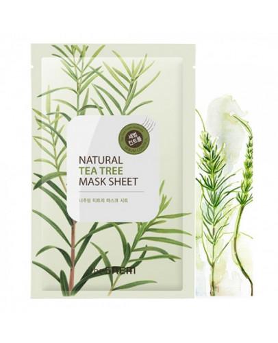 Маска тканевая с экстрактом чайного дерева The Saem Natural Tea Tree Mask Sheet