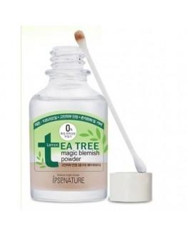 Успокаивающая пудра с экстрактом чайного дерева IPSEnature Tea Tree Magic Blemish Powder 30 мл