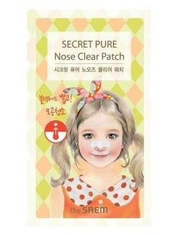 Набор очищающих пластырей для носа The Saem Secret Pure Nose Clear Patch Set (8pcs)