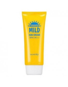 Крем мягкий солнцезащитный Secret Key Thanakha Mild Sun Cream SPF47 PA+++