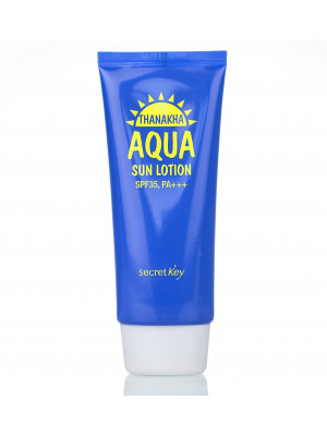 Лосьон солнцезащитный увлажняющий Secret Key Thanakha Aqua Sun Lotion SPF-35 PA+++ 100 гр