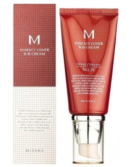 ВВ крем Missha M Perfect Cover BB Cream #21 Light Beige 50 мл