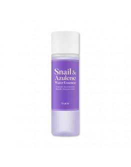 Эссенция для сухой и чувствительной кожи TIA'M Snail & Azulene Water Essence 180 мл
